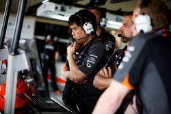 Jun Matsuzaki, Sahara Force India F1 Team engenheiro de pneus
