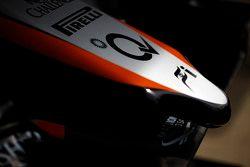 Bico do carro da Sahara Force India F1 VJM08