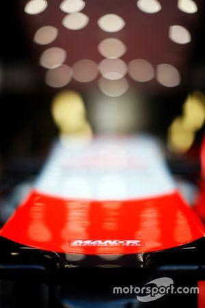 Bico do carro da Manor F1 Team
