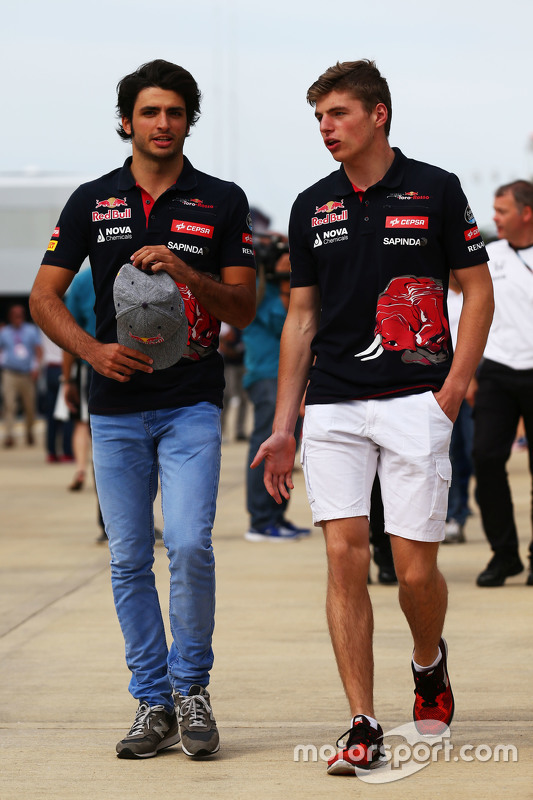 Карлос Сайнс мол., Scuderia Toro Rosso з Макс Ферстаппен, Scuderia Toro Rosso