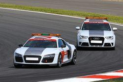 Audi-Sicherheitsautos
