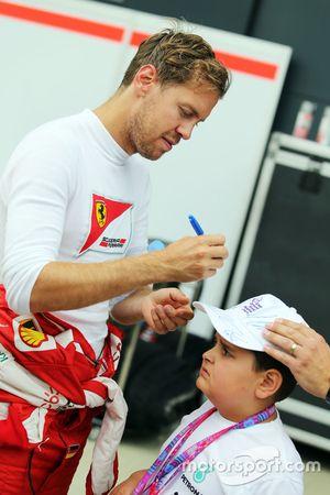 Sebastian Vettel, Ferrari com garoto