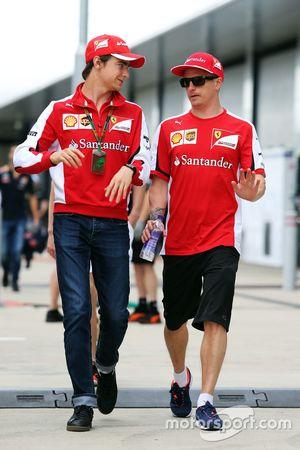 Esteban Gutierrez, Ferrari Piloto de testes e reserva com Kimi Raikkonen, Ferrari