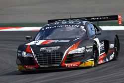 #4 Belgian Audi Club Team WRT Audi R8 LMS Ultra: Franck Stippler, James Nash