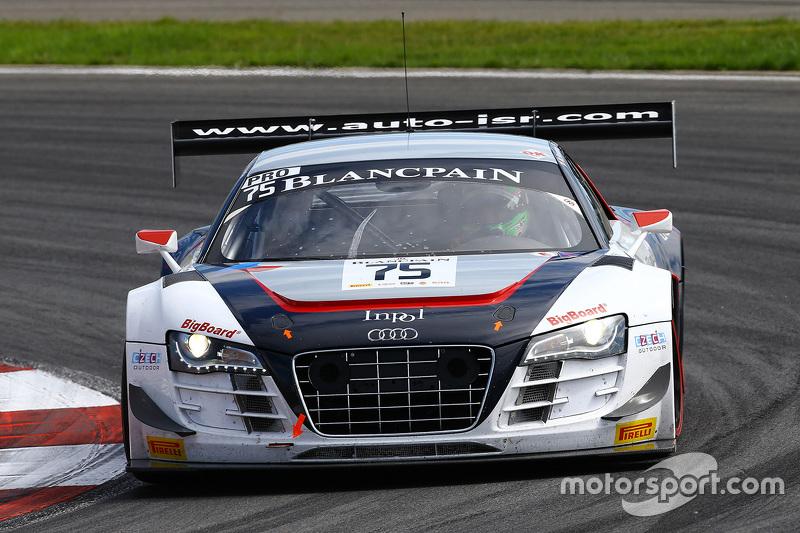 #75 ISR Audi R8 LMS ultra: Marco Bonanomi, Filip Salaquarda