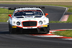 #83 Bentley Team HTP Bentley Continental GT3: Max van Splunteren, Jules Szymkowiak