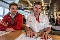 Phoenix Racing: Christian Mamerow, dan Audi Sport Team WRT: Pierre Kaffer