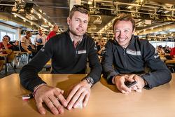 Manthey Takımı: Michael Christensen ve Frikadelli Racing: Patrick Pilet