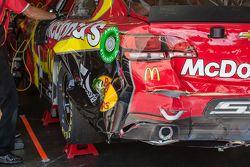 Damaged car of Jamie McMurray, Chip Ganassi Racing Chevrolet