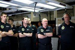 Mecânicos da Lotus F1 Team