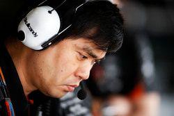 Jun Matsuzaki, engenheiro sênior de pneus da Sahara Force India F1 Team