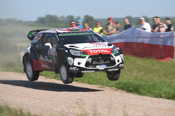 Kris Meeke et Paul Nagle, Citroën DS3 WRC, Citroën World Rally Team