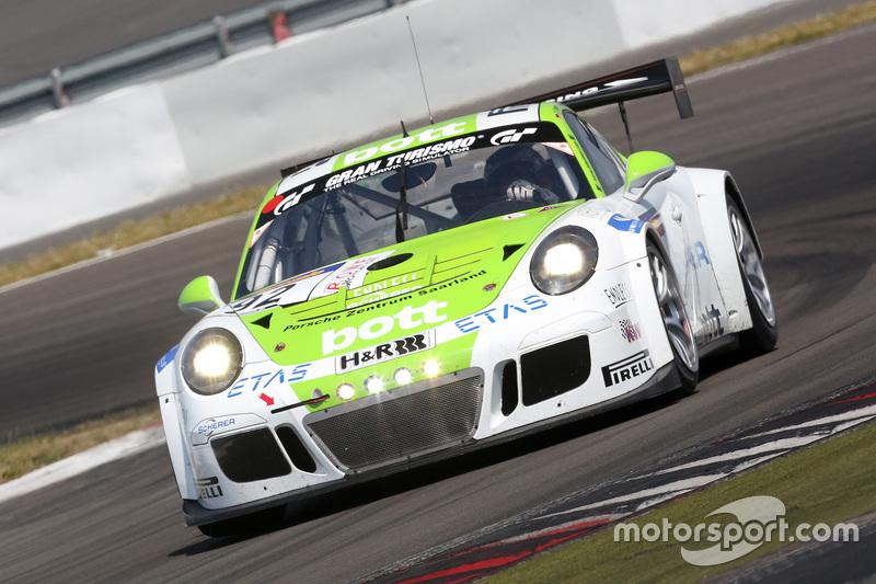 #92 Team Manthey Porsche 911 GT3 Cup: Richard Lietz, Michael Christensen, Christoph Breuer