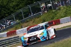 #55 Farnbacher Racing, Lexus RC-F GT3: Dominik Farnbacher, Mario Farnbacher