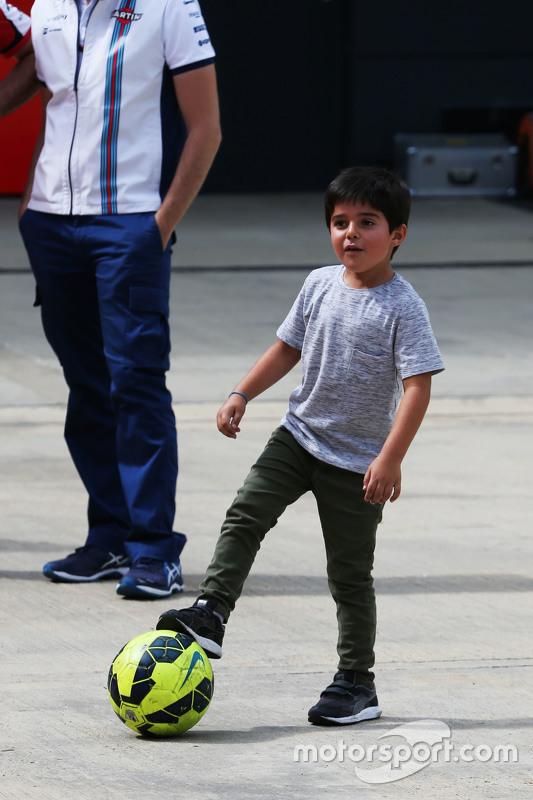 Felipinho Massa, Sohn von Felipe Massa, Williams