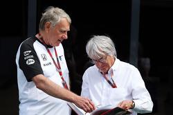 Tyler Alexander, McLaren com Bernie Ecclestone