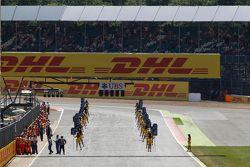 Die GP2-Startaufstellung