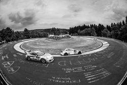 #75 Getspeed Performance Porsche 997 GT3 Cup: Adam Osieka, Dieter Schornstein, Andy Sammers, #302 So