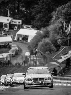 #188 Adrenalin Motorsport, BMW E90 325i: Jens Bombosch, Danny Brink, Ralph-Peter Rink, Stephan Reuter