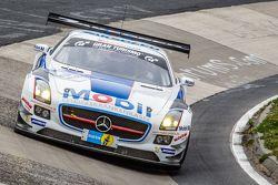 #27 Team Zakspeed Mercedes-Benz SLS AMG GT3: Sebastian Asch, Tom Coronel, Luca Ludwig, Christian Vie