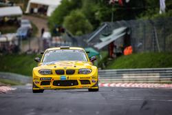 #106 MSC-Rhön e.V. im ADAC BMW 1 M Coupé: Harald Rettich, Fabrice Reicher, Dominique Nury, Richard P
