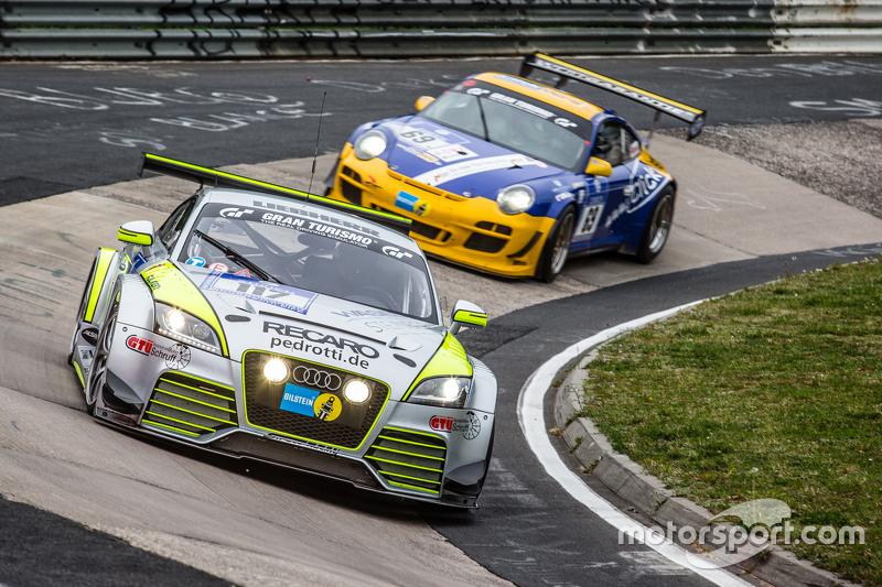 #117 Scuderia Colonia e.V., Audi TT RS: Matthias Wasel, Thomas Wasel, Marcus Löhnert, Elmar Deegner