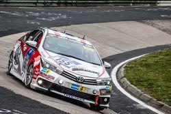 #155 Toyota Team Thailand Toyota Corolla Altis: Jum Grant, Chen Jiang-Honga, Ton Manat, Arthit Ruang