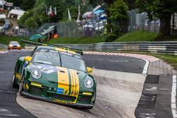 #56 9und11 Racing, Porsche 997 GT3 Cup: Georg Goder, Martin Schlüter, Dirk Lessmeister