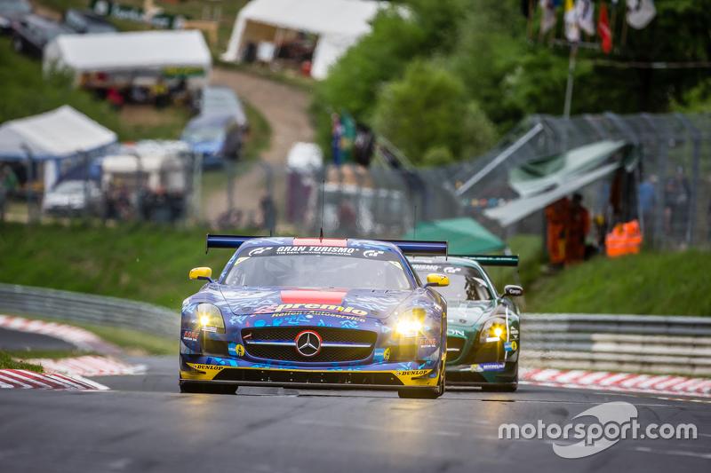 #33 Team Premio Mercedes-Benz SLS AMG GT3: Rob Huff, Kenneth Heyer, Philipp Frommenwiler, Christian