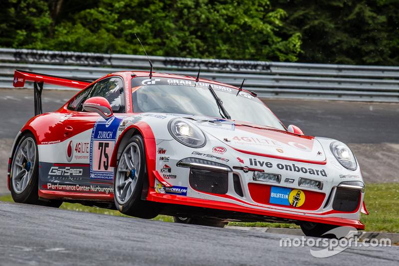 #75 Getspeed Performance Porsche 997 GT3 Cup: Adam Osieka, Dieter Schornstein, Andy Sammers