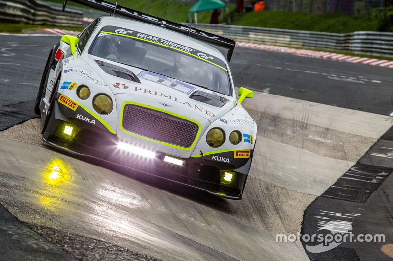 #11 Bentley Team HTP, Bentley Continental GT3: Harold Primat, Christopher Brück, Clemens Schmid, Marco Seefried
