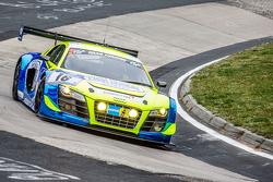 #16 Twin Busch Motorsport Audi R8 LMS ultra: Marc Busch, Dennis Busch, Christiaan Frankenhout