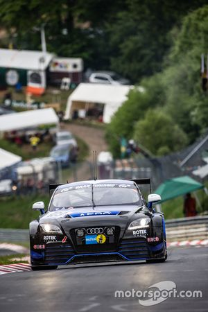 #109 Rotek Racing Audi TT RS: Ross Hollve, Tony Richards, David Thilenius