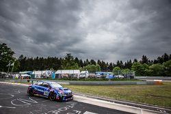 #114 Subaru Tecnica International, Subaru WRX STI: Carlo van Dam, Kota Sasaki, Tim Schrick, Marcel L