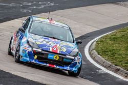 #142 Schläppi Race-Tec Renault Clio SRT: Holger Goedicke, Fabian Danz, Axel Friedhoff, Max Friedhoff
