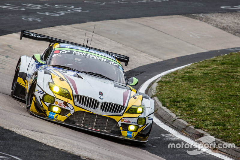 #26 Marc VDS Racing BMW Z4 GT3 : Augusto Farfus, Jörg Müller, Nicky Catsburg, Dirk Adorf