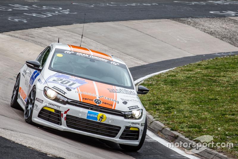 #201 Mathilda Racing VW Scirocco GT RS : Michael Paatz, Knut Kluge, Josef Kocsis
