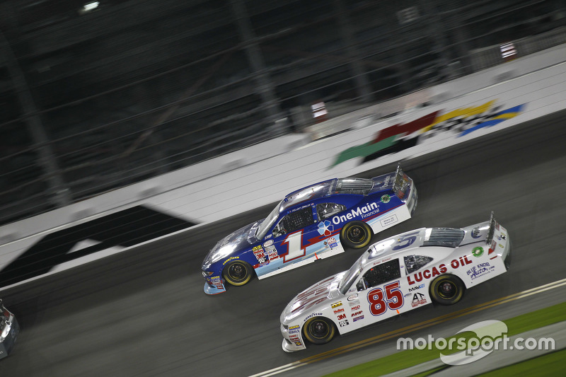 Bobby Gerhart und Elliott Sadler, Roush Fenway Racing, Ford