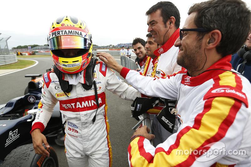 Juara balapan Rio Haryanto, Campos Racing