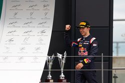Third place Pierre Gasly, DAMS