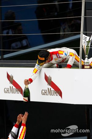 El ganador de la carrera, Rio Haryanto, Campos Racing