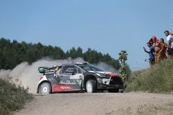 Mads Ostberg y Jonas Andersson, Citroën DS3 WRC, Citroën World Rally Team