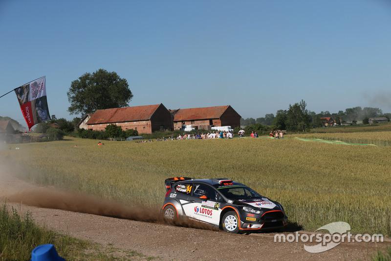 Robert Kubica, Maciej Szczepaniak, Ford Fiesta RS WRC