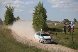 Giuseppe Testa und Emanuele Inglesi, Peugeot 208 R2
