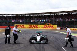 Lewis Hamilton, Mercedes AMG F1 W06 no grid