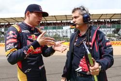 Max Verstappen, Scuderia Toro Rosso sur la grille