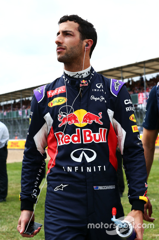 Daniel Ricciardo, Red Bull Racing di grid