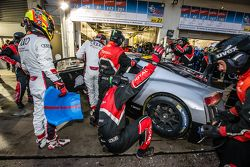 #28 Audi Sport Team WRT Audi R8 LMS: Christopher Mies, Edward Sandström, Nico Müller, Laurens Vantho