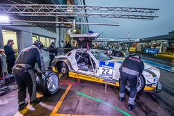 #22 Rowe Racing Mercedes-Benz SLS AMG GT3: Maro Engel, Jan Seyffarth, Renger van der Zande, Thomas J