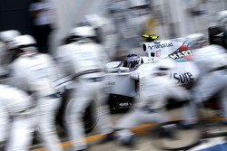 Valtteri Bottas, Williams F1 Team durante un pitstop